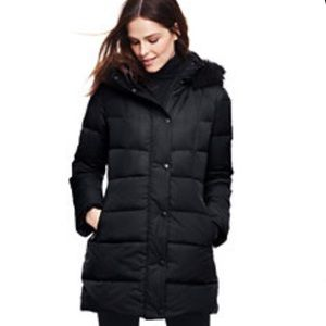 Land's End Women's Petite Down Coat Size XS/P 2-4